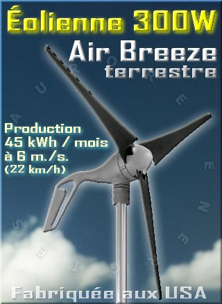 eolienne air breeze terrestre